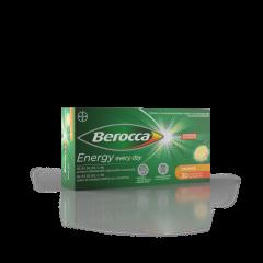 BEROCCA ENERGY ORANGE PORETABLETTI 30 kpl