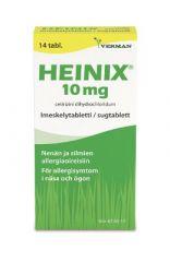 HEINIX 10 mg imeskelytabl 14 fol