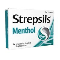 STREPSILS MENTHOL 1,2/0,6/8,0 mg imeskelytabl 24 fol